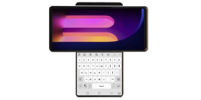 LG Wing, futur smartphone à double écran rotatif