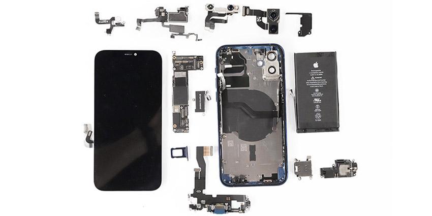 Les secrets des iPhone 12 et 12 Pro : démontage complet !