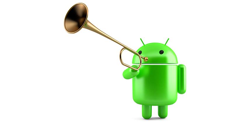 Android 12 et mise à jour système