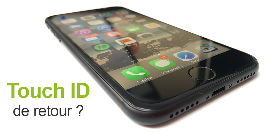 iPhone 13 : le retour du Touch ID ?