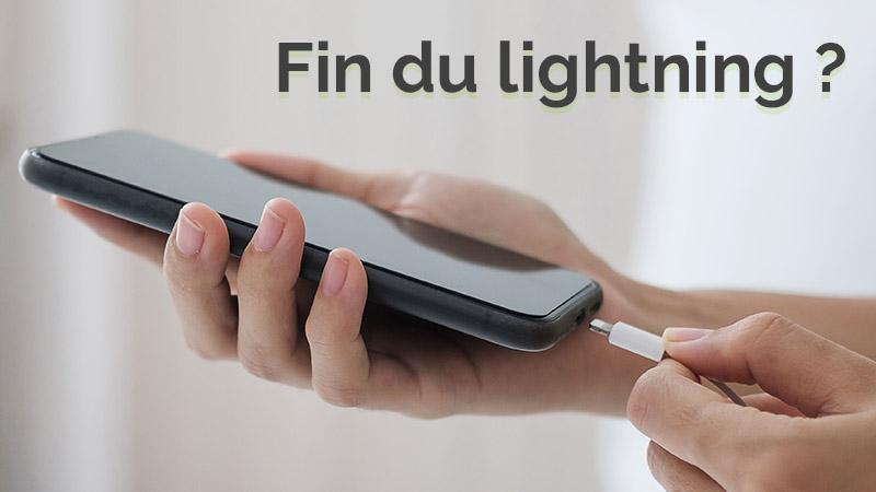 Chargeur lightning, Apple pourrait-il le remplacer?