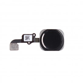 '.Bouton home noir + nappe - iPhone 6.'