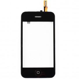 Bloc Vitre Tactile pour iPhone 3GS : Vitre, châssis + bouton home