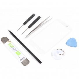 Kit réparation vitre tactile BLANCHE - Galaxy S3