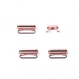 Lot de 4 boutons OR ROSE (Volume, vibreur, power) - iPhone 6S